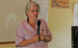 Ana Quiroz, representante del Centro de Información y Servicios de Asesoría en Salud (CISAS)