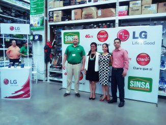 Amuebla con Claro Nicaragua, LG y SINSA