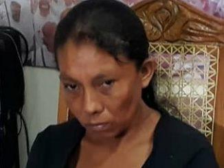 Doña Elea Valle, Madre de menores asesinados por militares del ejército de Nicaragua.