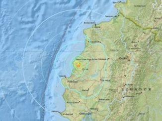 Terremoto,6 grados,Ecuador,