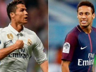 Cristiano Ronaldo,Neymar,