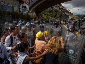 Protesta,Venezuela,