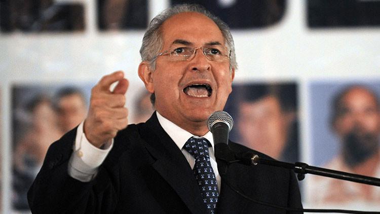 ex alcalde metropolitano de Caracas