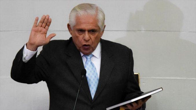 Omar Barboza,presidente,perlamento de Venezuela,