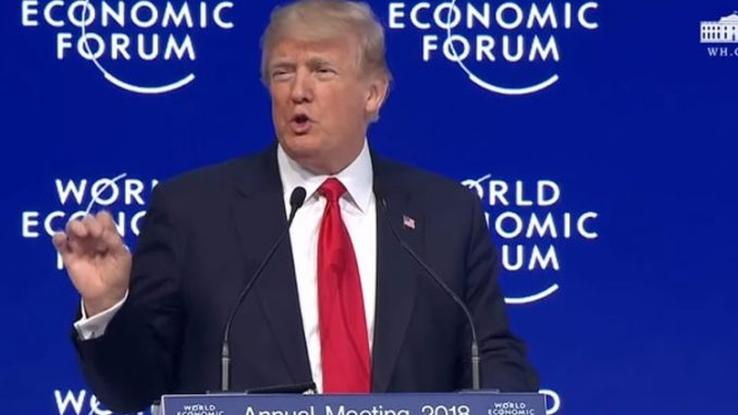 Estados Unidos,Donald Trump,Davos,
