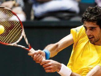 El tenista brasileño Thomaz Bellucci