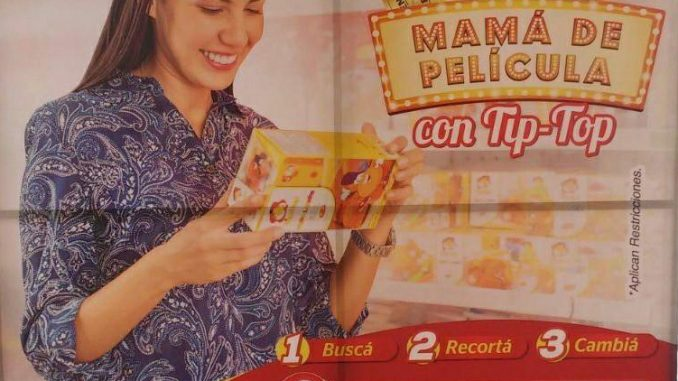 """""""Sé una Mamá de Película con Tip Top"""""""
