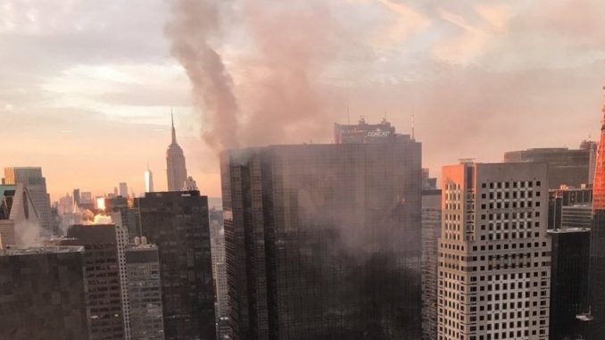 incendio,Torre Trump,