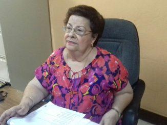 Vilma Núñez de Escorcia, presidenta del CENIDH. Larry Sevilla / Radio Corporación