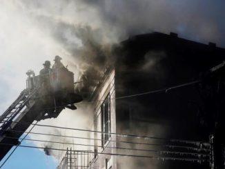Incendio en edificio del Bronx