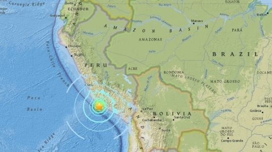 Terremoto,Perú,