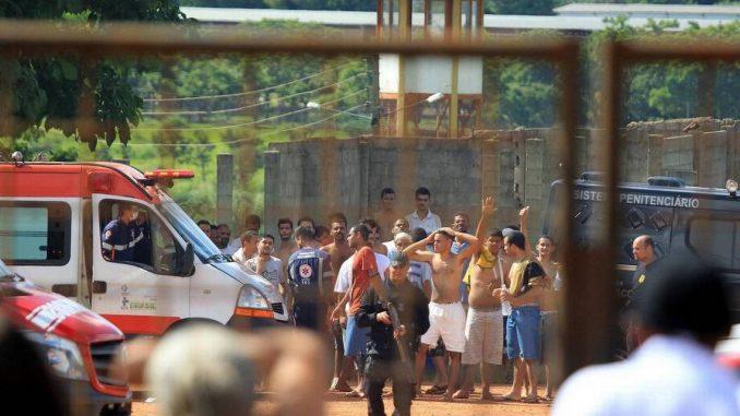 Motín,cárcel,Brasil,