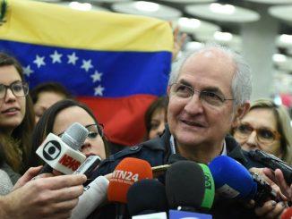 El opositor Antono Ledezma. EFE/FERNANDO VILAR