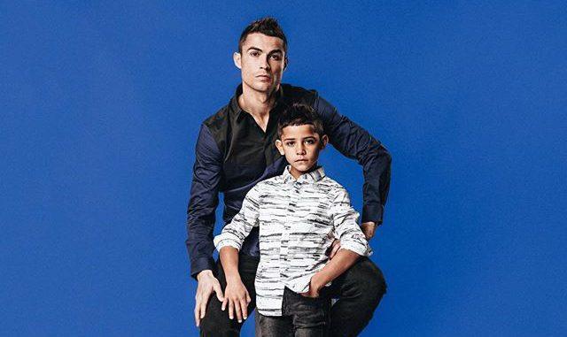 Cristiano Ronaldo y Jr.