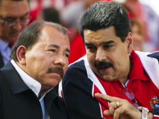 Nicaragua,Venezuela,Daniel Ortega,Nicolás Maduro,