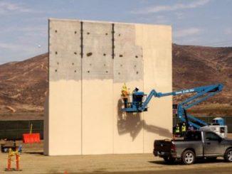 prototipo,muero fronterizo,México,