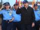 Aminta Granera Jefa de la Policía Nacional y Daniel Ortega presidente designado por el Consejo Supremo Electoral. Foto: Presidencia de Nicaragua