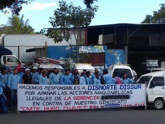 Protestas trabajadores sector eléctrico