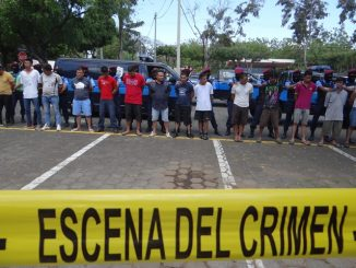 Detenidos Policía Nacional