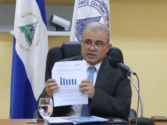 Ovidio Reyes, presidente del Banco Central de Nicaragua. Imagen referencial.