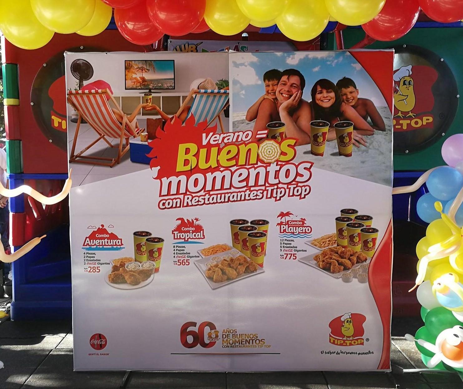 Buenos Momentos con Restaurantes Tip Top