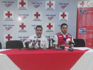 Informe Cruz Roja Nicaragüense