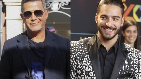 Alejandro Sanz y Maluma