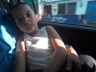 Rescate de niño en Chinandega
