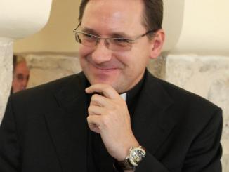Monseñor Waldemar Stanislaw Sommertag el nuncio apostólico para Nicaragua
