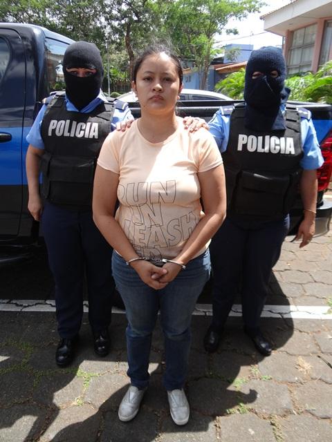 Meybil Juniet Baltodano Hernández, 30 años. Foto: Policía Nacional