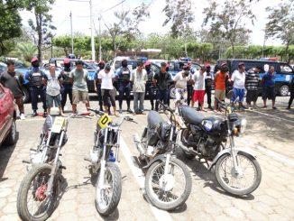 Policía Nacional detenidos