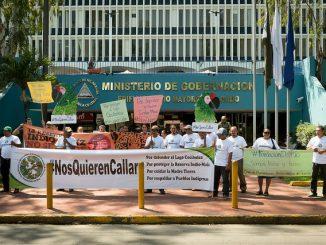 Protesta Fundación del Río. Foto: Carlos Herrera, Confidencial