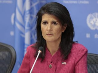 La embajadora de Estados Unidos ante la ONU
