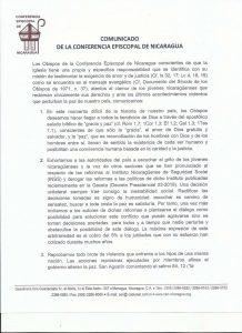 CEN,protestas,Nicaragua,