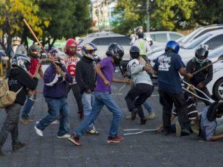 protestas,Managua,represión,