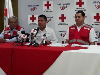 Foto: Cortesía Cruz Roja Nicaragüense