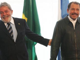 Lula Da Silva y Daniel Ortega