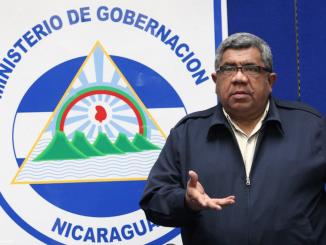 Luis Cañas, viceministro de gobernación. Foto: Presidencia de Nicaragua