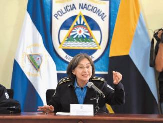 Aminta Granera Policía Nacional