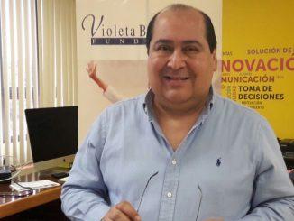 Homero Hinojo, Consultor de la Sociedad Interamericana de Prensa. Foto: Radio Corporación