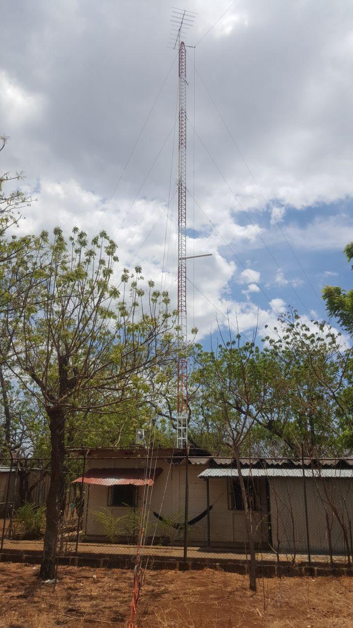 Antena AM de Radio Corporación en Tipitapa
