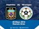 Nicaragua vs Argentina