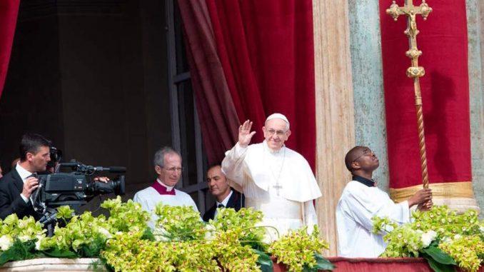 Papa Francisco,mensaje de Pascua,