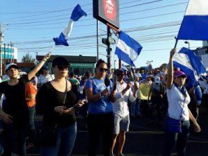 Protestas,Ortega,