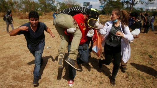 EEUU,violencia,policía,Nicaragua,