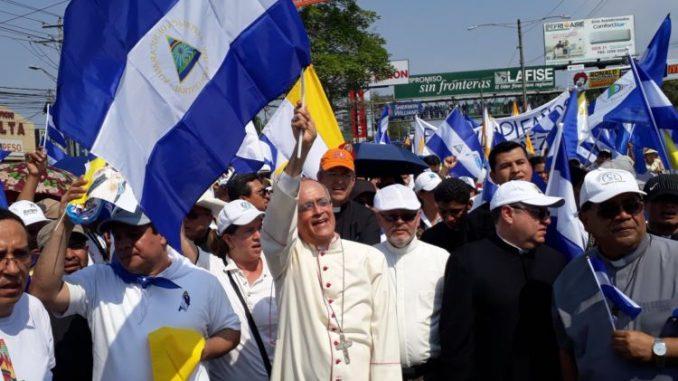 peregrinación,nicaragüenses,