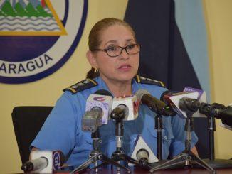 Comisionada Vilma González, jefa de Relaciones Públicas, Policía Nacional. Foto: Archivo