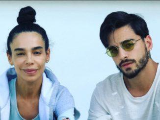 Yudy Arias y Maluma