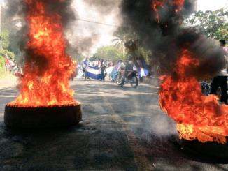 Protestas en la Concha, Masaya Nicaragua