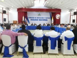Diálogo Nacional Nicaragua